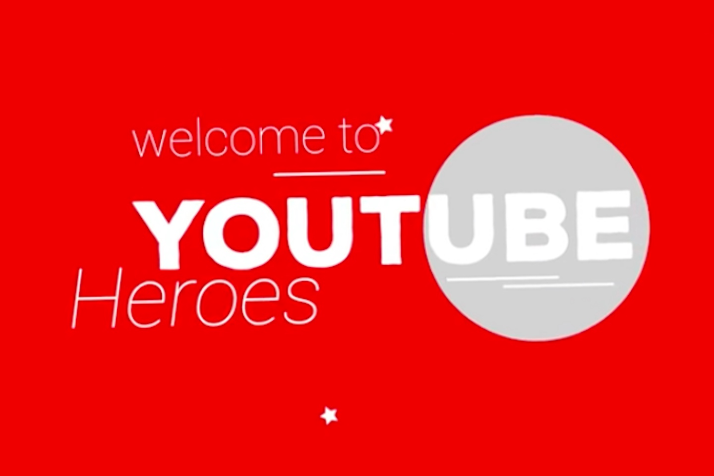Programma Youtube Heroes