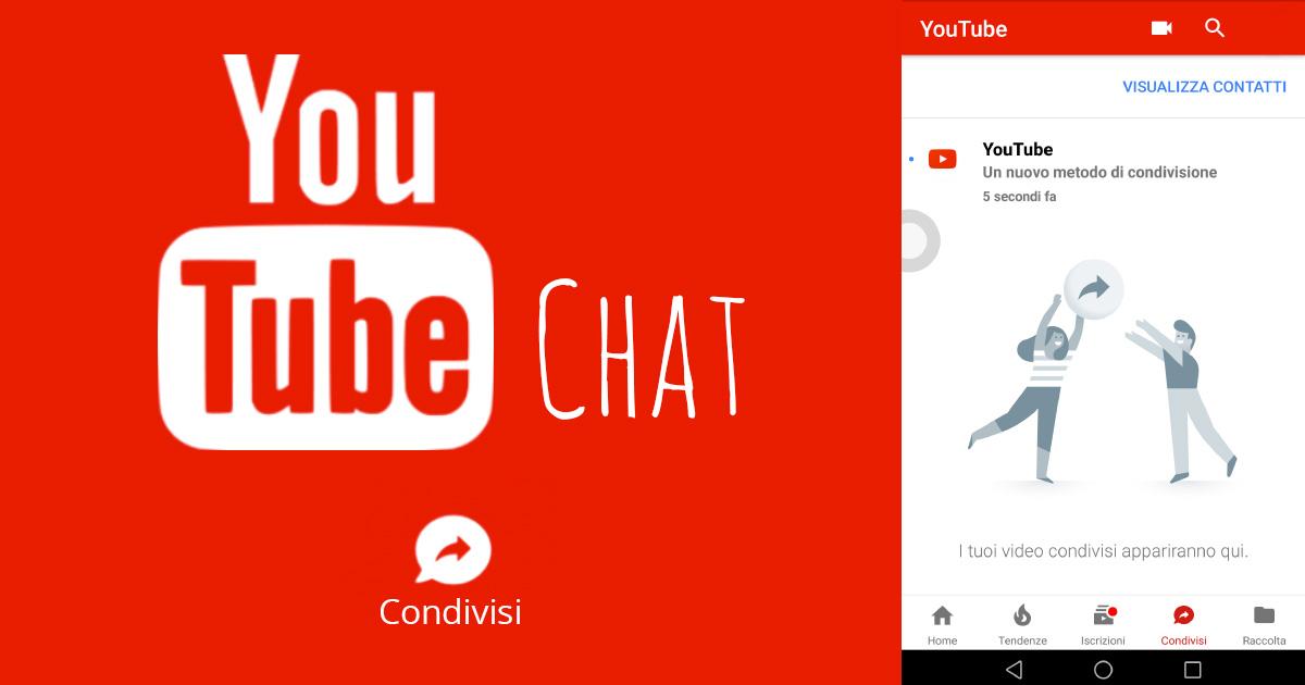 Logo e screenshot Youtube Chat